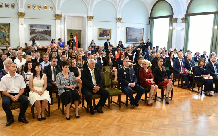 Megyei Önkormányzat ünnepi megemlékezése